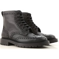 Burberry Boots for Men, Booties, Black, Leather, 2019, 10 6 6.5 7 7.5 8 8.5 9 9.5