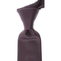 Canali Ties On Sale, Dark Midnight Blue, Silk, 2021