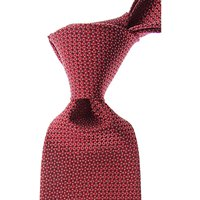 Canali Ties On Sale, Red, Silk, 2019