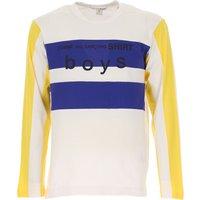 Comme des Garcons T-Shirt for Men, White, Cotton, 2019, L M S XL