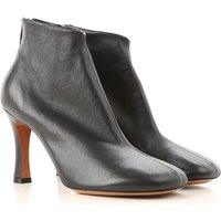 Celine Boots for Women, Booties, Black, Leather, 2019, 3.5 4.5 5.5 6.5