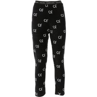 Chiara Ferragni Pants for Women On Sale, Black, Cotton, 2019, 10 12