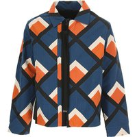 Craig Green Jacket for Men On Sale in Outlet, Petroleum Blue, Cotton, 2021, M S