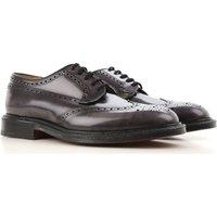Church's Brogue Shoes On Sale, Dark Asphalt Grey, Leather, 2017, 7 8 8.5 9