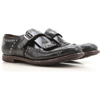 Church's Monk Strap Shoes for Men On Sale, Black, Leather, 2017, 11 8 8.5 9 9.5