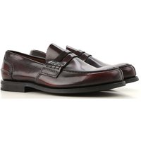 Church's Loafers for Men On Sale, Burgundy, Leather, 2019, 10 11 7 7.5 8 8.5 9.5
