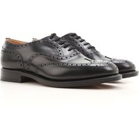 Church's Lace Up Shoes for Men Oxfords, Derbies and Brogues, Black, Leather, 2019, 7.5 8 9 9.5