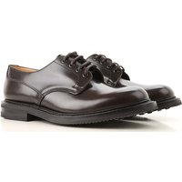 Church's Lace Up Shoes for Men Oxfords, Derbies and Brogues On Sale, Light Ebony, Leather, 2019, 8 9