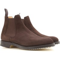 Church's Chelsea Boots for Men On Sale, Brown, suede, 2019, 10 8.5