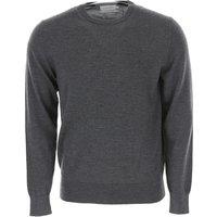 Calvin Klein Sweater for Men Jumper On Sale, Dark Grey Heather, Wool, 2019, L S XL XXL