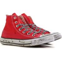 Converse Sneakers for Women On Sale, Limited Edition, Red, Canvas, 2019, US 5 (EU 36) US 6 (EU 36.5)