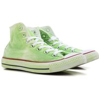 Converse Sneakers for Women On Sale, Limited Edition, Neon Green, Canvas, 2019, US 5 (EU 36) US 5.5
