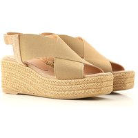Castaner Sandals for Women, Toasted, Canvas, 2021, 3.5