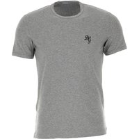 Dolce & Gabbana T-Shirt for Men On Sale, Grey Melange, Cotton, 2019, L M S XL XXL