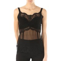 Dolce & Gabbana Top for Women On Sale in Outlet, Black, Silk, 2017, 10 14 16