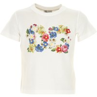 Dolce & Gabbana Kids T-Shirt for Girls On Sale, White, Cotton, 2019, 4Y 6Y 8Y