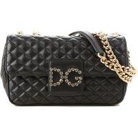Dolce & Gabbana Shoulder Bag for Women On Sale, Black, Leather, 2019
