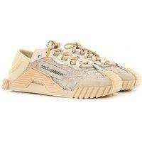 Dolce & Gabbana Sneakers for Women On Sale, White, Nylon, 2019, 2.5 3 6