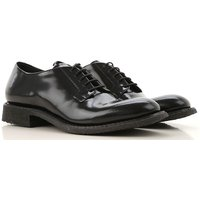 Roberto Del Carlo Lace Up Shoes for Men Oxfords, Derbies and Brogues On Sale, Black, Polished, 2019,