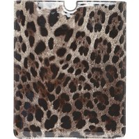 Dolce & Gabbana iPad On Sale, Leopard, Patent Leather, 2019