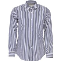 Del Siena Shirt for Men On Sale, Dark Blue, Cotton, 2019, 15.5 15.75 17 17.5