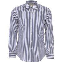 Del Siena Shirt for Men On Sale, Dark Blue, Cotton, 2019, 15.5 15.75 17 17.5