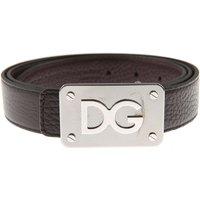 Dolce & Gabbana Mens Belts On Sale, Reversibile, Ebony, Leather, 2019, 36 38 40 42 44