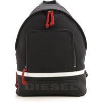 Diesel Backpack for Men On Sale in Outlet, Scuba Back, Black, polyester, 2019