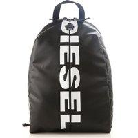 Diesel Backpack for Men On Sale, Black, polyurethane, 2019