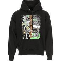 Diesel Sweatshirt for Men On Sale, Black, Cotton, 2019, L M XL