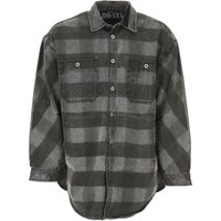 Diesel Jacket for Men On Sale in Outlet, Denim Washed Black, Cotton, 2019, L S
