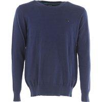 Diesel Sweater for Men Jumper On Sale, Kpablo, Blue, Cotton, 2017, L M S XL