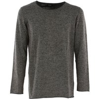 Diesel Sweater for Men Jumper On Sale in Outlet, Kfox, Black Melange, Cotton, 2019, M S XL XS