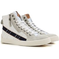 Diesel Sneakers for Men On Sale, Dstring Plus, White, Leather, 2017, 6.5 7 8