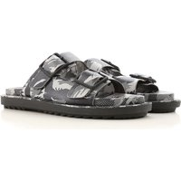 Diesel Sandals for Men On Sale in Outlet, Dirty White, polyurethane, 2019, 6.5 9