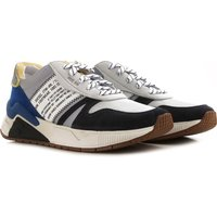 Diesel Sneakers for Men On Sale in Outlet, Grey, Suede leather, 2021, 10.5 6.5 9 9.5
