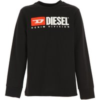 Diesel Kids T-Shirt for Boys On Sale, Black, Cotton, 2019, 10Y 14Y 16Y 8Y