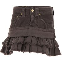 Dondup Kids Skirts for Girls On Sale in Outlet, Brown, Cotton, 2019, 4Y 6Y
