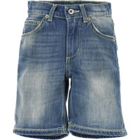 Dondup Kids Shorts for Boys On Sale, Blue Denim, Cotton, 2019, L M XL XS