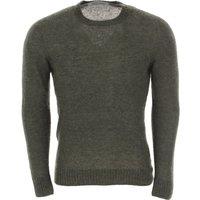 Drumohr Sweater for Men Jumper, Dark Green, Wool, 2019, L M XL XXL