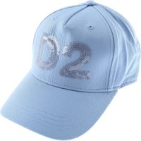 Dsquared2 Kids Hats for Girls On Sale in Outlet, Skyblue, Cotton, 2019, I II III