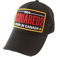 Dsquared2 Hat for Women On Sale, Black, Cotton, 2019