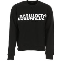 Dsquared2 Sweatshirt for Men, Black, Cotton, 2019, M XXL XXXL