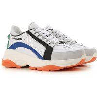 Dsquared2 Sneakers for Men On Sale, White, Leather, 2019, 10.5 6.5 7.5 8 9 9.5
