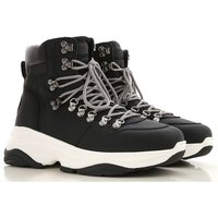 Dsquared2 Boots for Men, Booties On Sale in Outlet, Black, Leather, 2019, 9 9.5
