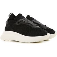 Dsquared2 Sneakers for Women On Sale, Black, Textile, 2019, 5.5 7.5