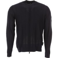 Emporio Armani Sweater for Men Jumper, navy, Virgin wool, 2017, M XL XXL XXXL