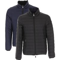 Emporio Armani Down Jacket for Men, Puffer Ski Jacket, Black, Down, 2019, L M