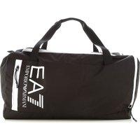 Emporio Armani Gym Bag Sports for Men On Sale, Black, polyester, 2021