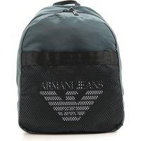 Emporio Armani Backpack for Men On Sale, Dark Green, Nylon, 2019